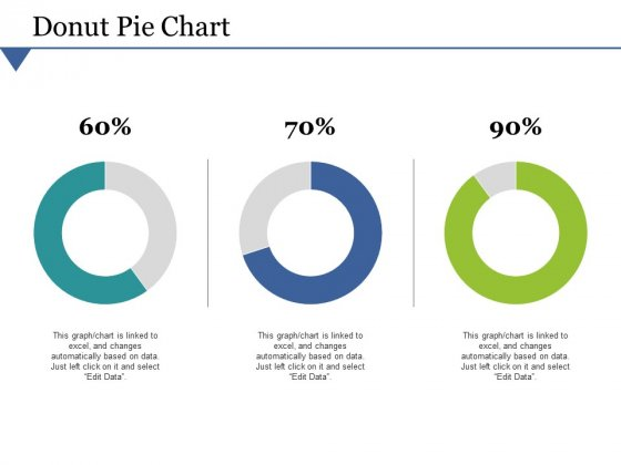 Donut Pie Chart Ppt PowerPoint Presentation Outline Guidelines