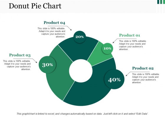 Donut Pie Chart Ppt PowerPoint Presentation Outline Mockup