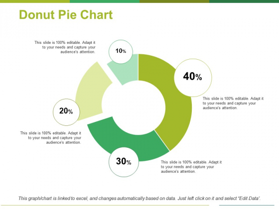 Donut Pie Chart Ppt PowerPoint Presentation Outline Structure
