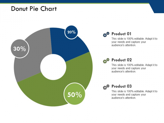Donut Pie Chart Ppt PowerPoint Presentation Pictures File Formats