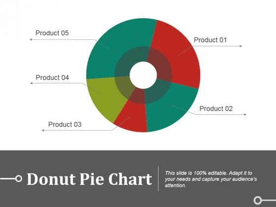 Donut Pie Chart Ppt PowerPoint Presentation Pictures Slideshow