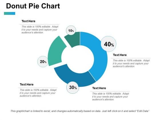 Donut Pie Chart Ppt PowerPoint Presentation Portfolio Example Topics