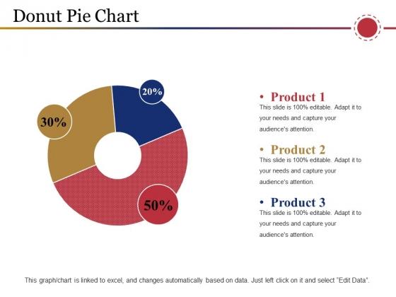 Donut Pie Chart Ppt PowerPoint Presentation Show Ideas