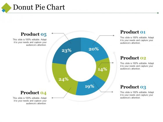 Donut Pie Chart Ppt PowerPoint Presentation Show Introduction