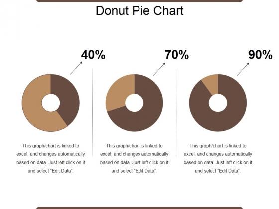 Donut Pie Chart Ppt PowerPoint Presentation Show Topics