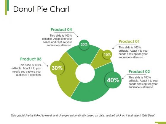 Donut Pie Chart Ppt PowerPoint Presentation Show Visual Aids