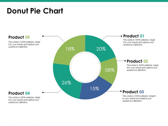 Donut Pie Chart Ppt PowerPoint Presentation Slides Icon