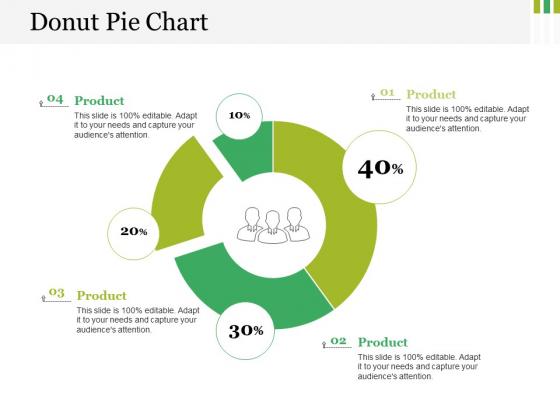Donut Pie Chart Ppt PowerPoint Presentation Styles Clipart