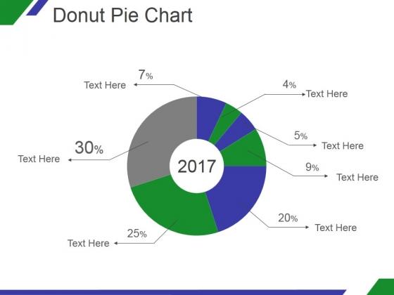 Donut Pie Chart Ppt PowerPoint Presentation Styles