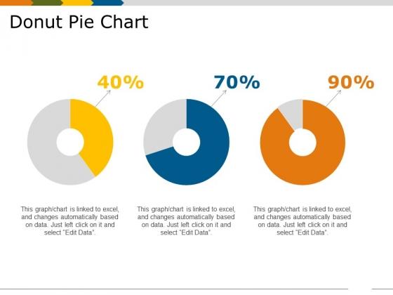 Donut Pie Chart Template 2 Ppt PowerPoint Presentation Show Skills