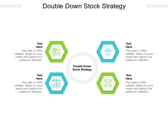 Double Down Stock Strategy Ppt PowerPoint Presentation Show Guide Cpb Pdf