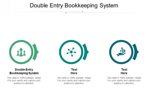 Double Entry Bookkeeping System Ppt PowerPoint Presentation Portfolio Good Cpb