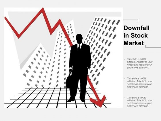 Downfall In Stock Market Ppt PowerPoint Presentation Ideas Summary