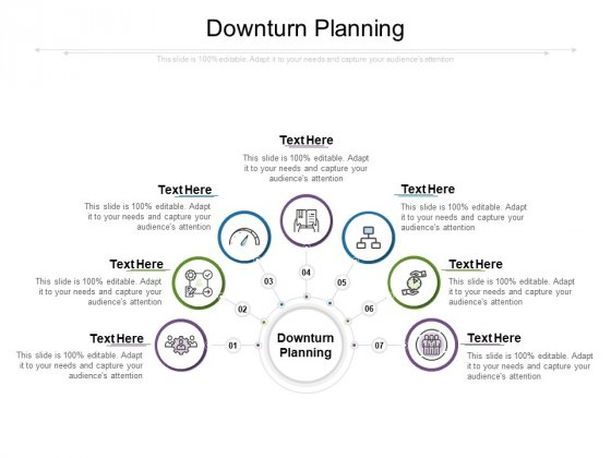 Downturn Planning Ppt PowerPoint Presentation Model Visuals Cpb
