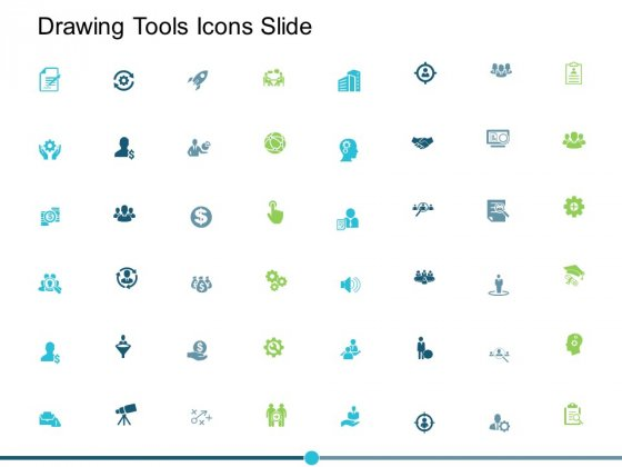 Drawing Tools Icons Slide Ppt PowerPoint Presentation Summary Icons