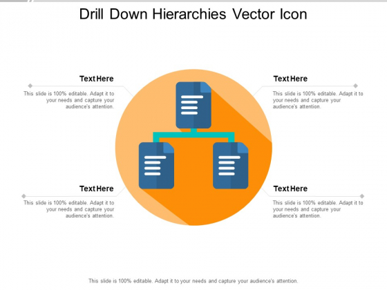 Drill Down Hierarchies Vector Icon Ppt PowerPoint Presentation Infographic Template Format Ideas