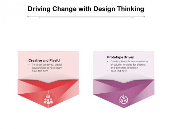 Driving Change With Design Thinking Ppt PowerPoint Presentation Ideas Outline PDF