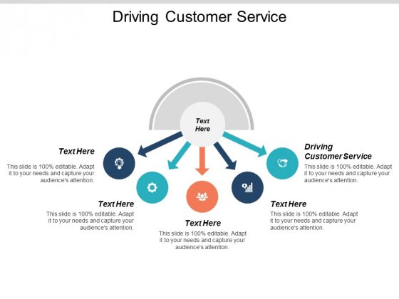 Driving Customer Service Ppt PowerPoint Presentation Model Structure Cpb