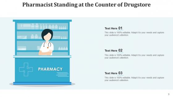 Druggist_Medicines_Counter_Ppt_PowerPoint_Presentation_Complete_Deck_With_Slides_Slide_9