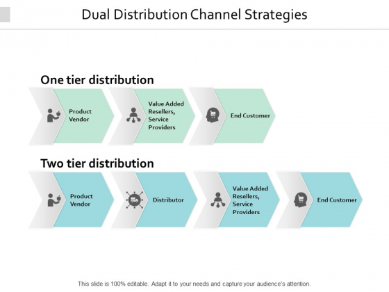 Dual Distribution Channel Strategies Ppt PowerPoint Presentation Portfolio Infographic Template