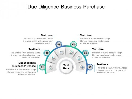 Due Diligence Business Purchase Ppt PowerPoint Presentation Summary Aids Cpb