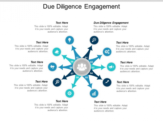 Due Diligence Engagement Ppt Powerpoint Presentation Icon Diagrams Cpb