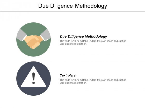Due Diligence Methodology Ppt PowerPoint Presentation Model Background Images Cpb