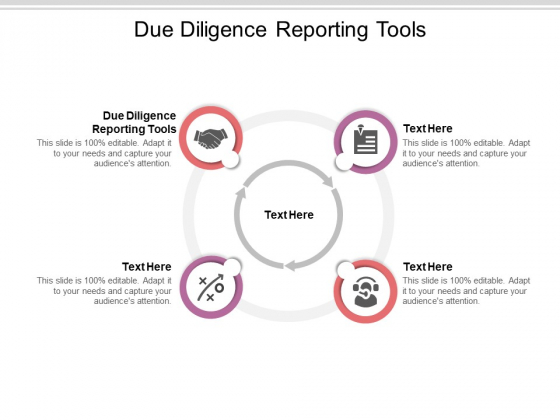 Due Diligence Reporting Tools Ppt PowerPoint Presentation Layouts Portrait Cpb Pdf