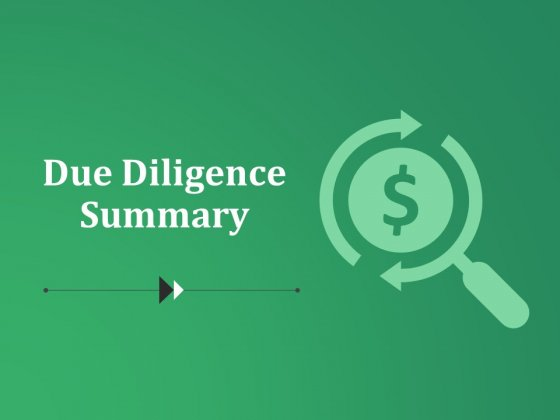 Due Diligence Summary Template 1 Ppt PowerPoint Presentation Layouts Graphics Design