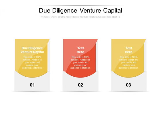 Due Diligence Venture Capital Ppt PowerPoint Presentation Show Rules Cpb