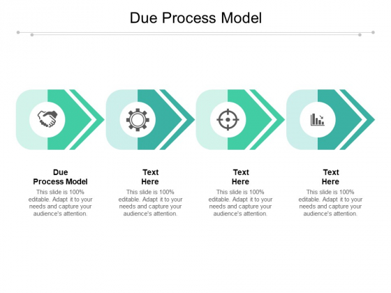 Due Process Model Ppt PowerPoint Presentation Pictures Demonstration Cpb Pdf