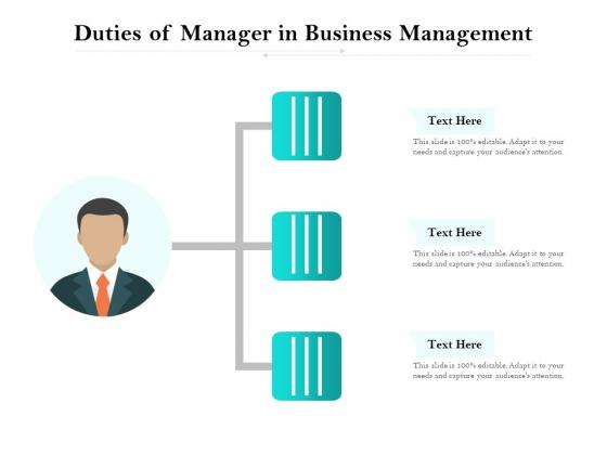 Duties_Of_Manager_In_Business_Management_Ppt_PowerPoint_Presentation_File_Slides_PDF_Slide_1