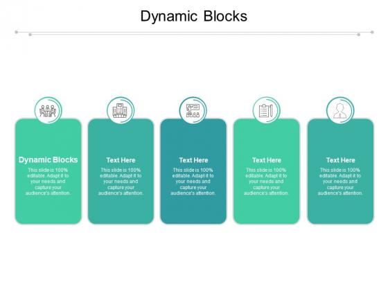 Dynamic Blocks Ppt PowerPoint Presentation Pictures Slides Cpb Pdf