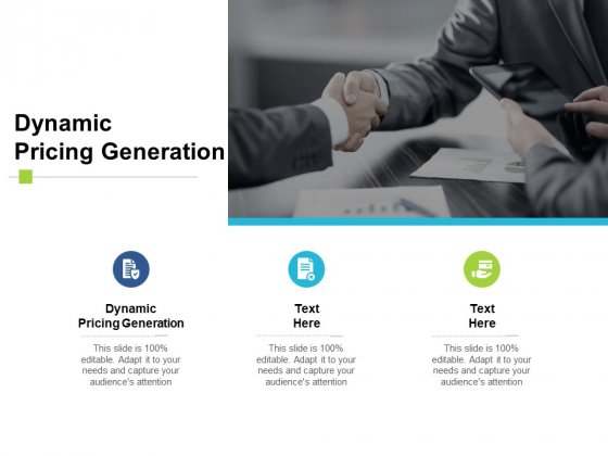 Dynamic Pricing Generation Ppt PowerPoint Presentation Summary Example Cpb
