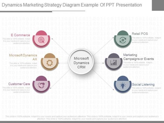 Dynamics Marketing Strategy Diagram Example Of Ppt Presentation