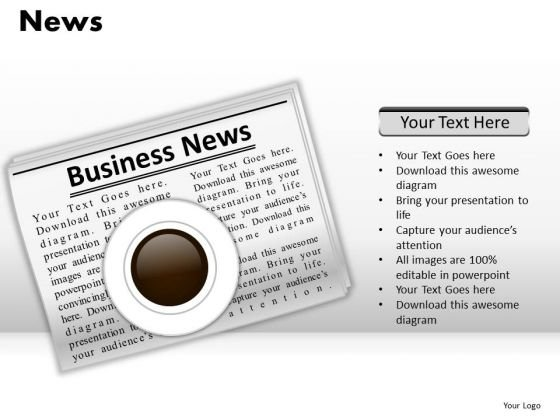 Daily News PowerPoint Slides And Ppt Graphics Templates
