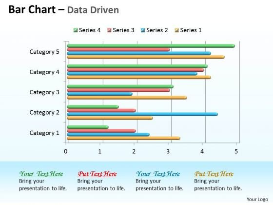 Data Analysis In Excel 3d Bar Chart For Comparison Of Time Series PowerPoint Templates