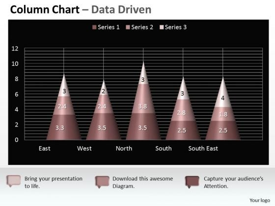 Data Analysis On Excel 3d Chart Shows Interrelated Sets Of PowerPoint Templates