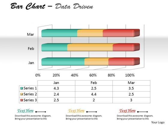 Data Analysis On Excel 3d Chart To Represent Quantitative Differences PowerPoint Templates