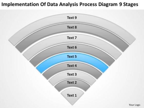 data_analysis_process_diagram_9_stages_how_to_draft_business_plan_powerpoint_templates_1