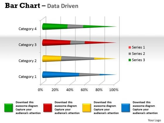Data Analysis Programs 3d Bar Chart To Dispaly PowerPoint Templates