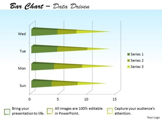 Data Analysis Template Forex Market Bar Chart PowerPoint Templates
