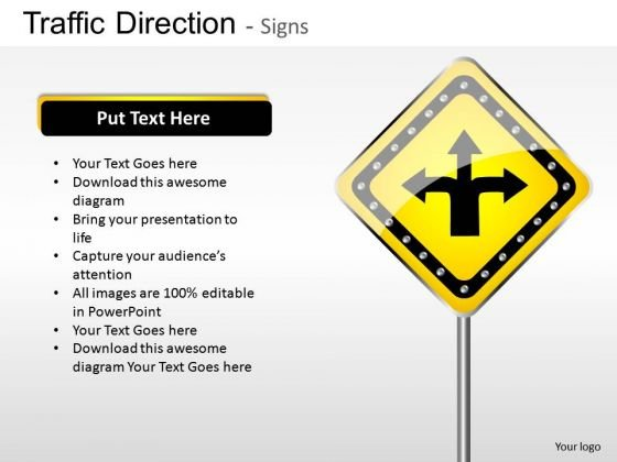 Decision Traffic Direction PowerPoint Slides And Ppt Diagram Templates