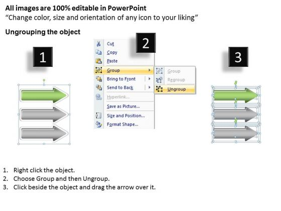 define_parallel_processing_3_stages_extending_arrow_powerpoint_slides_2