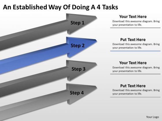 Define Parallel Processing An Established Way Of Doing 4 Tasks PowerPoint Slide