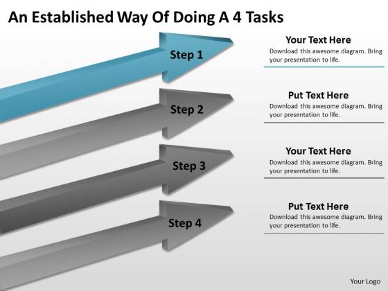 Define Parallel Processing An Established Way Of Doing 4 Tasks PowerPoint Slides