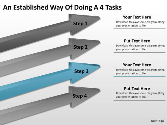 Define Parallel Processing An Established Way Of Doing 4 Tasks Ppt PowerPoint Slide