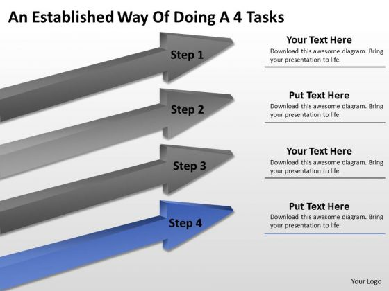 Define Parallel Processing An Established Way Of Doing 4 Tasks Ppt PowerPoint Slides