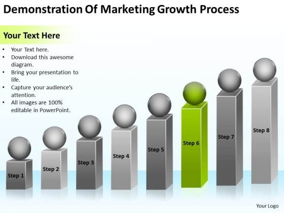 Demonstration Of Marketing Growth Process Ppt Business Planning PowerPoint Templates