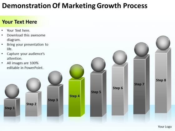 Demonstration Of Marketing Growth Process Ppt Templates For Business PowerPoint